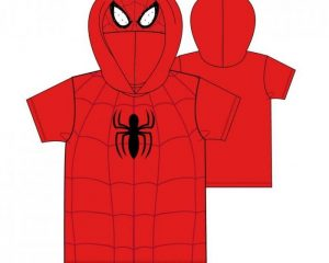 camiseta capucha infantil spiderman